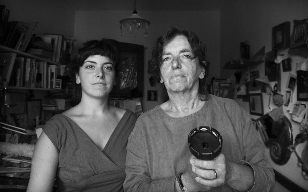 Lea Brugnoli e Anna Torazza con Andrea Spontoni