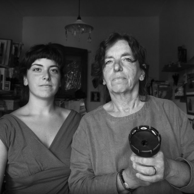 Lea Brugnoli and Anna Torazza with Andrea Spontoni