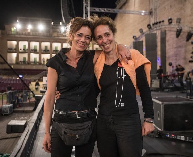 Francesca Cecarini and Chiara Patriarca